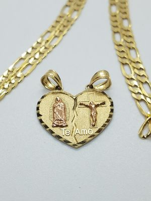 14k Gold Chains with Pendant for Sale in Phoenix, AZ