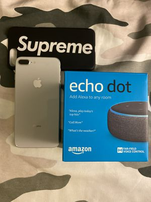 iPhone 8 Plus and Alexa Dot 3 for Sale in Las Vegas, NV