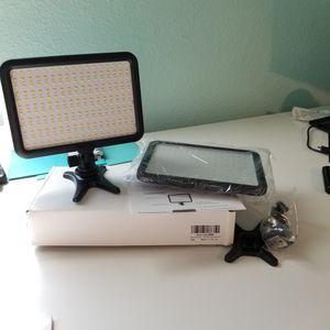 LED Video Light for camera DSLR o Mirrorless for Sale in Houston, TX