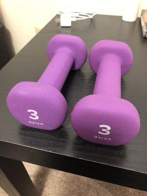 3 lb. hand weights for Sale in College Place, WA