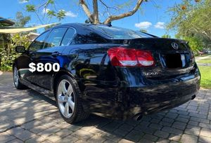 2010🍀Lexus GS Sedan🍀Loaded RWD No Issues-For Sale!!!-$800 for Sale in Fort Lauderdale, FL