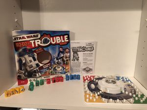 Star Wars R2-D2 in Trouble pop o matic trouble board game for kids and adults! 2009 for Sale in Phoenix, AZ