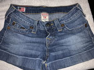 True Religion Jean Shorts for Sale in Oak Glen, CA