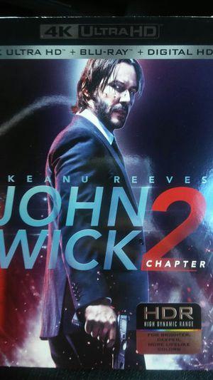 John wick 2 4k for Sale in Dallas, TX