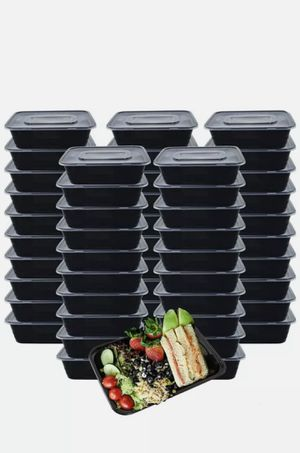HOMEE Meal Prep Containers 50 Pack/26oz Reusable Food Storage Containers Bento L for Sale in Las Vegas, NV