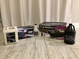 Fog machines for Halloween or house parties for Sale in Miami, FL