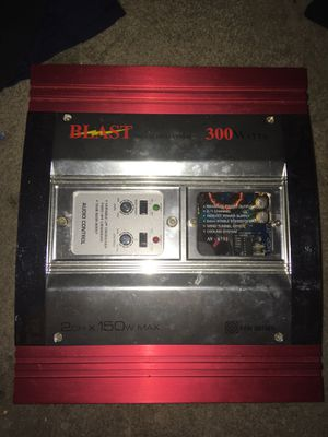 BLAST Pro Audio Amp for Sale in Tacoma, WA