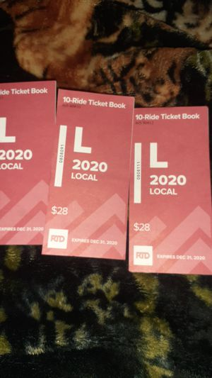 RTD Bus Tickets for Sale in Denver, CO