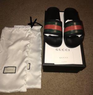 Gucci slides size 9 for Sale in Somonauk, IL