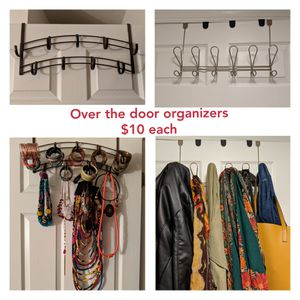 Over the door organizers for Sale in Washington, DC