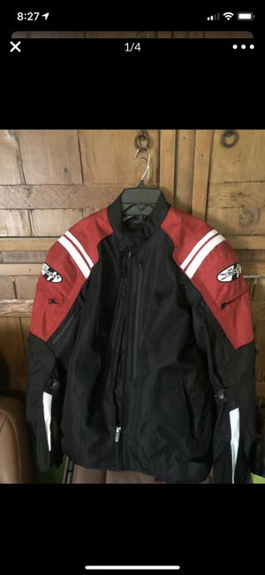 Motorcycle jacket waterproof joerocket joe rocket honda Yamaha Suzuki Bmw Large all season NEW for Sale in Las Vegas, NV