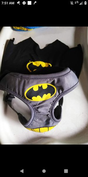 Batman dog harness xs for Sale in Flint, MI