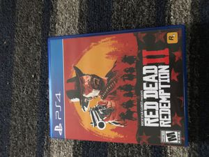 Red dead redemption 2 for Sale in Bloomington, IL