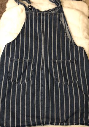 Forever 21 Striped Overall Dress for Sale in Phoenix, AZ
