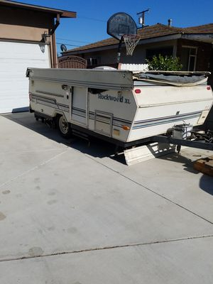 2005 Rockwood XL pop up camper Need new roof top and some TLC it won't go up NO PAPERWORK SOLD AS IS $700 for Sale in Montclair, CA
