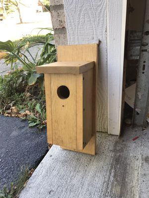 Wood birdhouse, great condition never used, CHEAP! for Sale in Marengo, OH