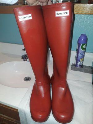 Hunter rain boots size 10 for Sale in Hayward, CA