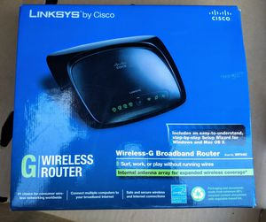 Cisco-Linksys WRT54G2 Wireless-G Broadband Router for Sale in Troy, MI