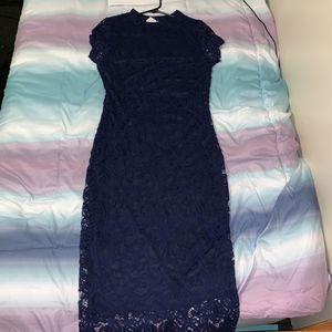 Navy Blue Lace Dress for Sale in Nashville, TN
