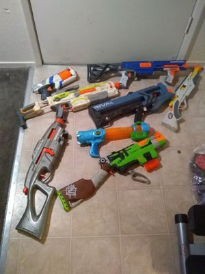 Broken Nerf guns for Sale in Manteca, CA