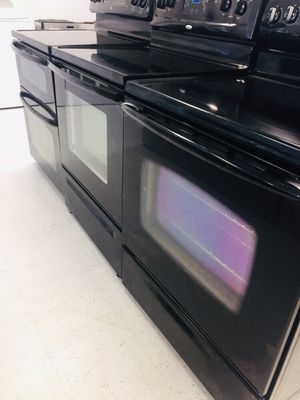 🔥🔥black electric stoves in excellent condition 90 days warranty 🔥🔥 for Sale in Mount Rainier, MD