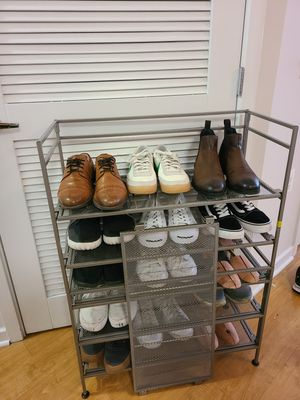 6 tier shoe rack for Sale in Arlington, VA