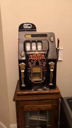 Golden Nugget Antique Slot Machine for Sale in San Gabriel, CA