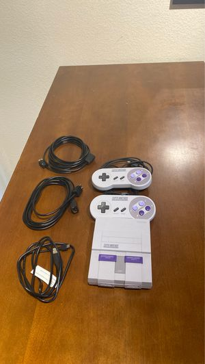 Super Nintendo entertainment system for Sale in San Diego, CA