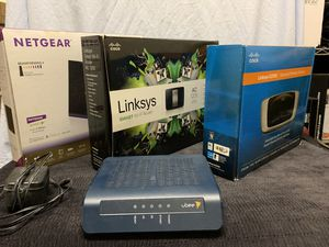 Used wireless internet router modems for Sale in Fullerton, CA