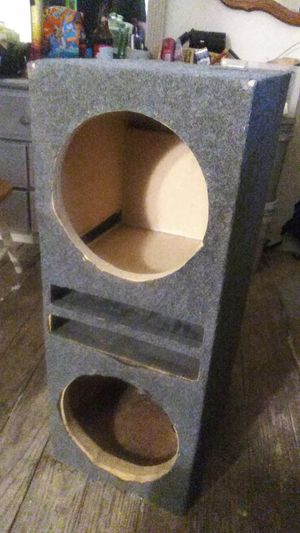 speaker box for 12s for Sale in Fort Worth, TX
