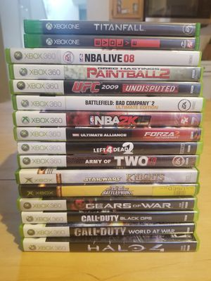 Xbox Games for $5 Each (Xbox one and Xbox 360) for Sale in Chino Hills, CA