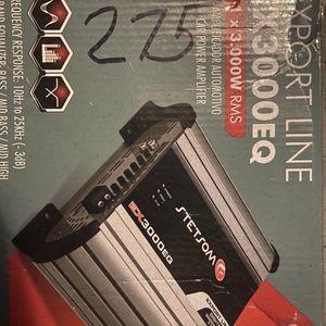 Stetsom Amp 3k Watt for Sale in Philadelphia, PA