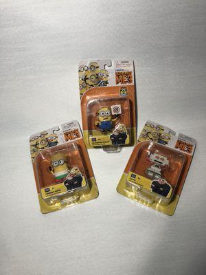 3 minions toys for Sale in Moreauville, LA