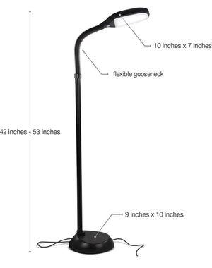 Adjustable LED light floor lamp for Sale in Seattle, WA