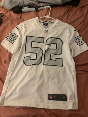 Raiders Mack color rush jersey size m for Sale in Lancaster, CA