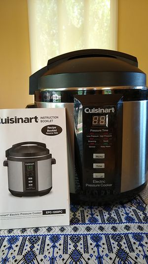 Cuisinart Electric Pressure Cooker EPC-1200PC for Sale in Chula Vista, CA