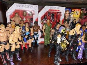 Wwe loose action figures for Sale in San Jacinto, CA