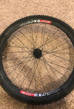 Mountain bike rim and tire for Sale in Buckeye, AZ