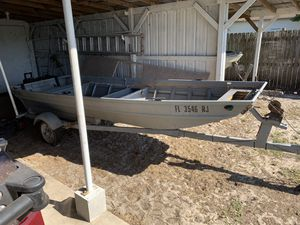 14' Jon boat for Sale in Wahneta, FL