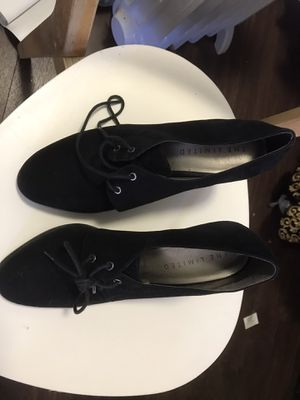 The Limited Black suede women's shoes size 9 1/2 medium for Sale in San Diego, CA