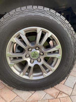 "18"" Ford King Ranch Rims with Tires for Sale in Fort Lauderdale, FL"