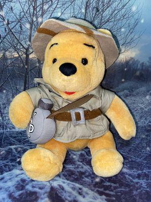 "Disney parks Winnie Pooh Safari 10"" plush for Sale in Bellflower, CA"