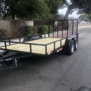 7' X 14' Tandem trailer for Sale in Montclair, CA
