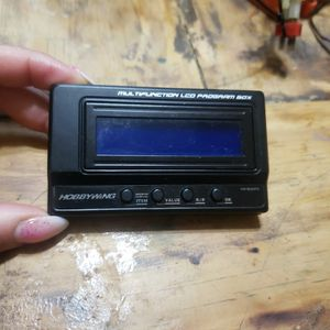 HOBBYWING MULTIFUNCTION LCD PROGRAM BOX for Sale in Bellflower, CA