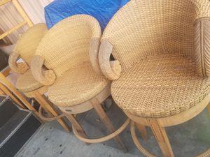 3 shovel bar stools for Sale in Bellflower, CA