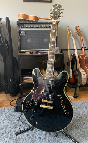 SX Lefty Hollow Body Electric Guitar for Sale, used for sale  Brooklyn, NY