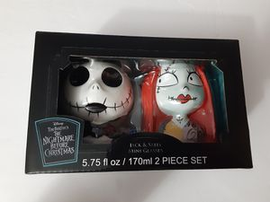 THE NIGHTMARE BEFORE CHRISTMAS JACK AND SALLY MINI GLASSES WALGREENS EXCLUSIVE for Sale in Miami, FL
