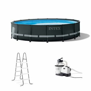 Intex 26325EH 16Ft x 48In Ultra XTR Frame Above Ground Swimming Pool Set w/ Pump for Sale in San Leandro, CA