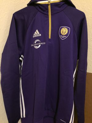 Adidas Orlando City Official Hoody Brand Size Large New With Tags. Retail $85 for Sale in Aloma, FL