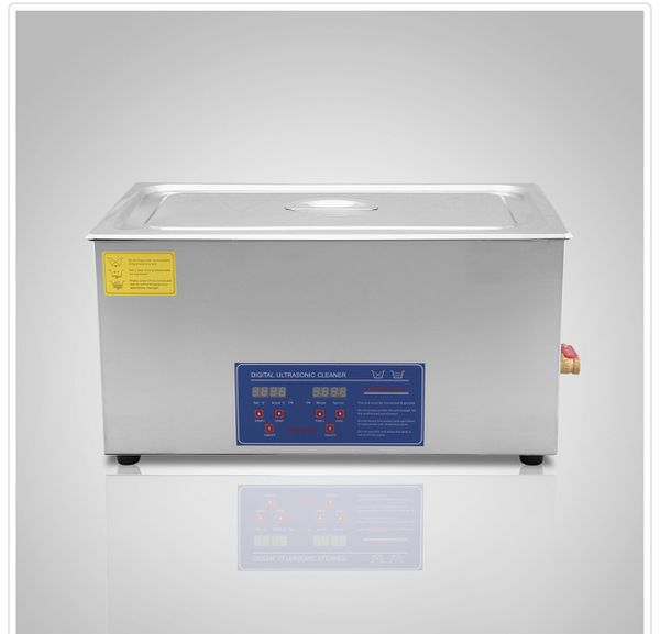 22L Stainless Ultrasonic Cleaner Machine JPS-80A with Digital Control LCD & NC Heating
